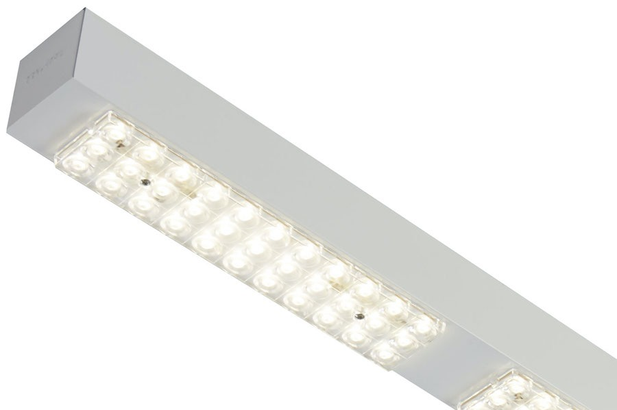 LC 3987 LED CONTINUOUS ROW: DESIGNED TO HIGH-RISE INSTALLATIONS
