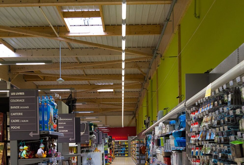 TRATO NEW PROJECT! 100% LED SUPERMARKET