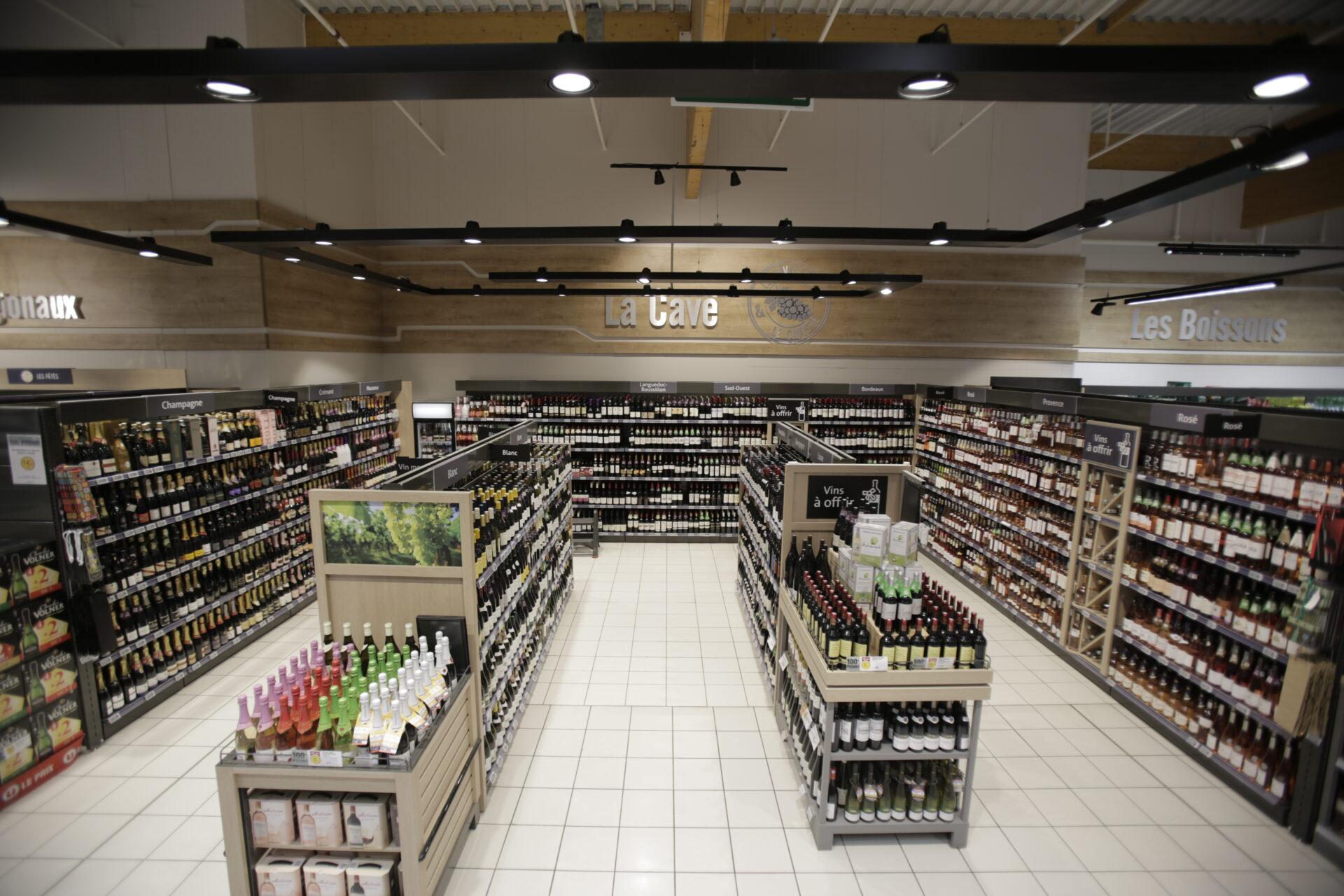 Eclairage Plafond A La Francaise trato - eclairage de magasin - eclairage commercial led