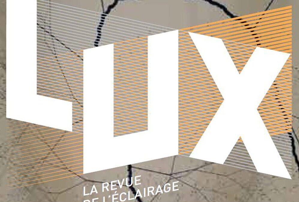 La revue de l'éclairage LUX met en lumière le groupe TRATO-TLV
